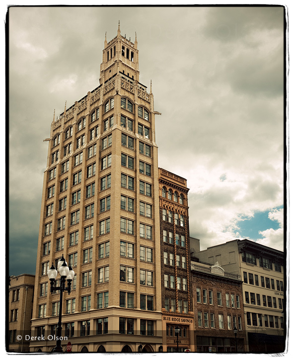 Jackson Building in Downtown Asheville, NC