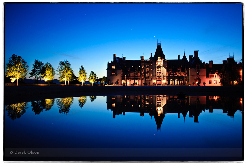 Photo of the Biltmore Estate in Asheville, North Carolina