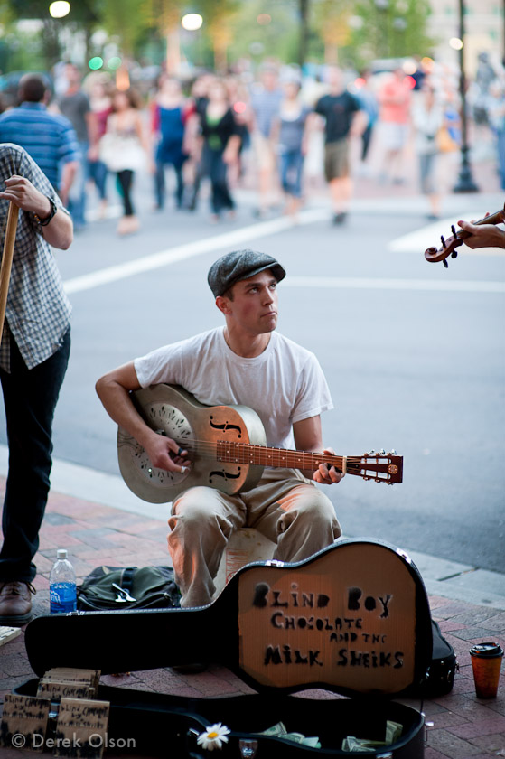 Asheville street music