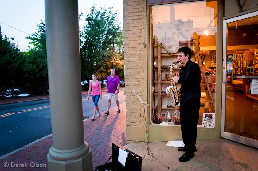 WNC Street Musician