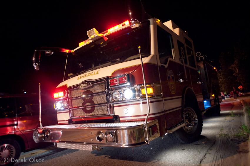 Asheville Fire Truck