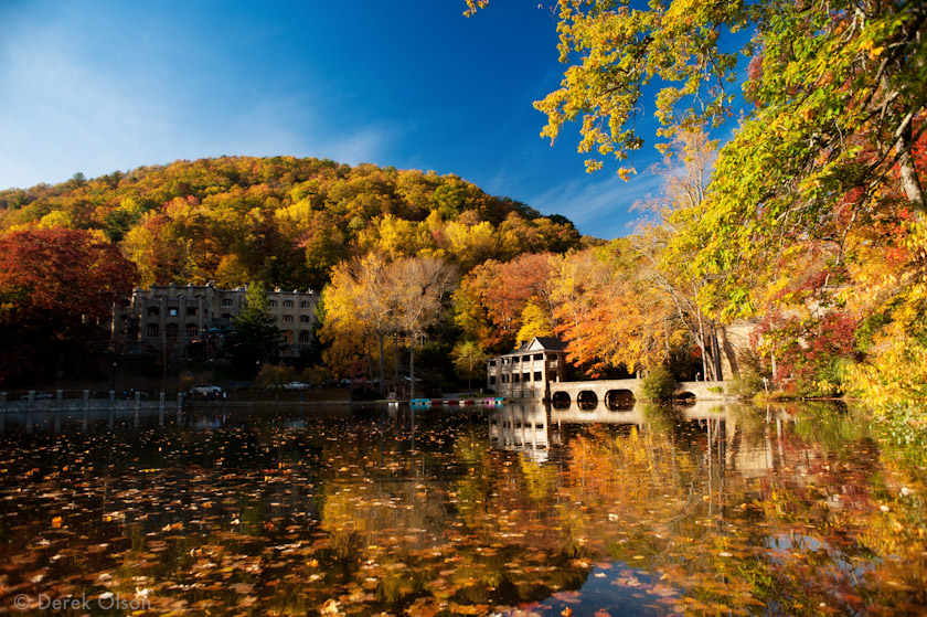 Montreat in the fall