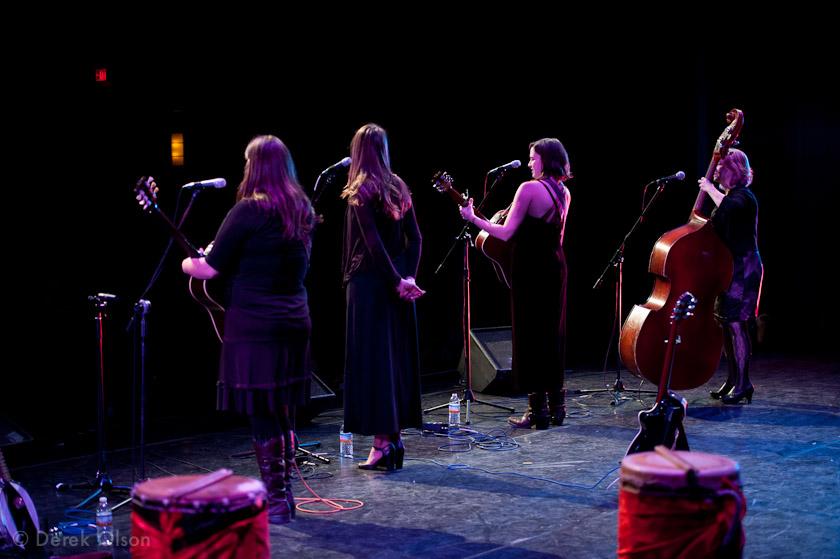 Swayback Sisters live