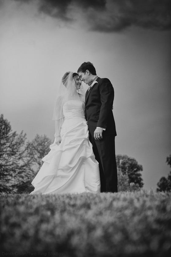 North Carolina Wedding | Black And White Photography