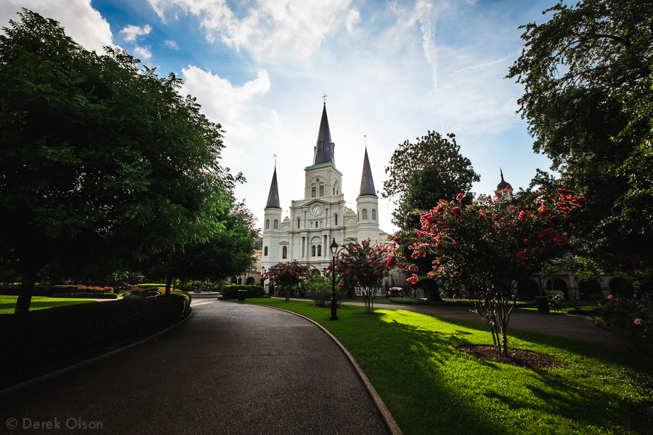 New Orleans, cathedral in Jackson Square