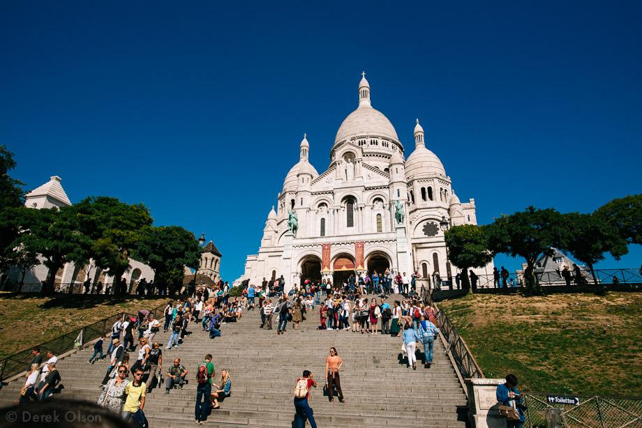 Sacre-Coeur in Montmartre