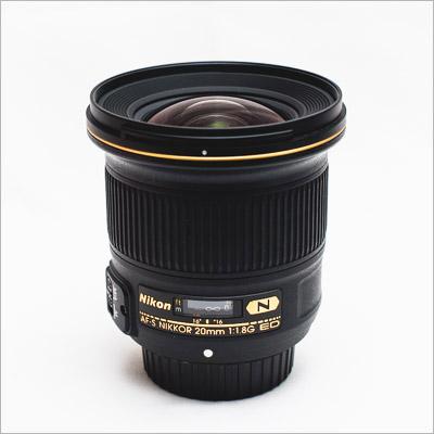 Nikon 20mm 1.8 G AF lens