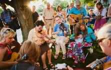 Music festival in Asheville