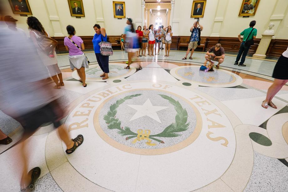 Floor of Texas Capitol